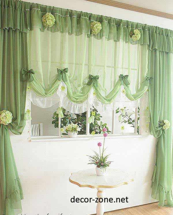 Green Kitchen Curtain Ideas
