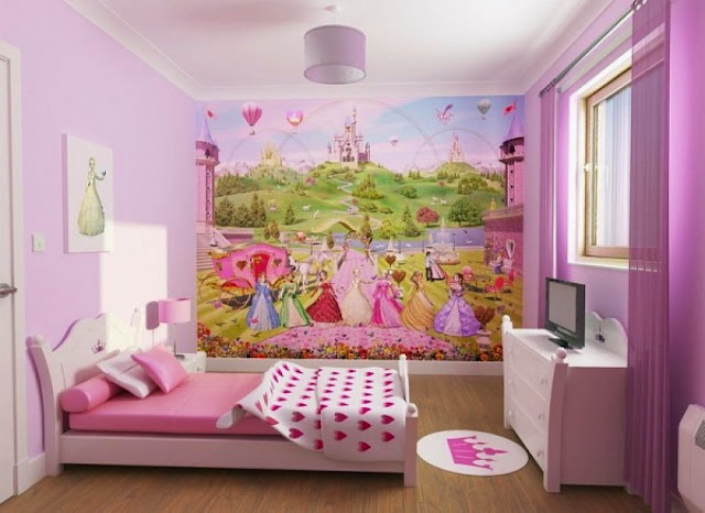 Teenage Girl Bedroom
