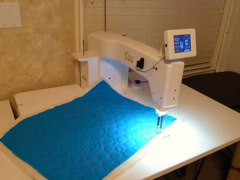 Quilt Kisses My New Baby Lock Tiara Amazing Baby Lock Tiara Sewing Machine