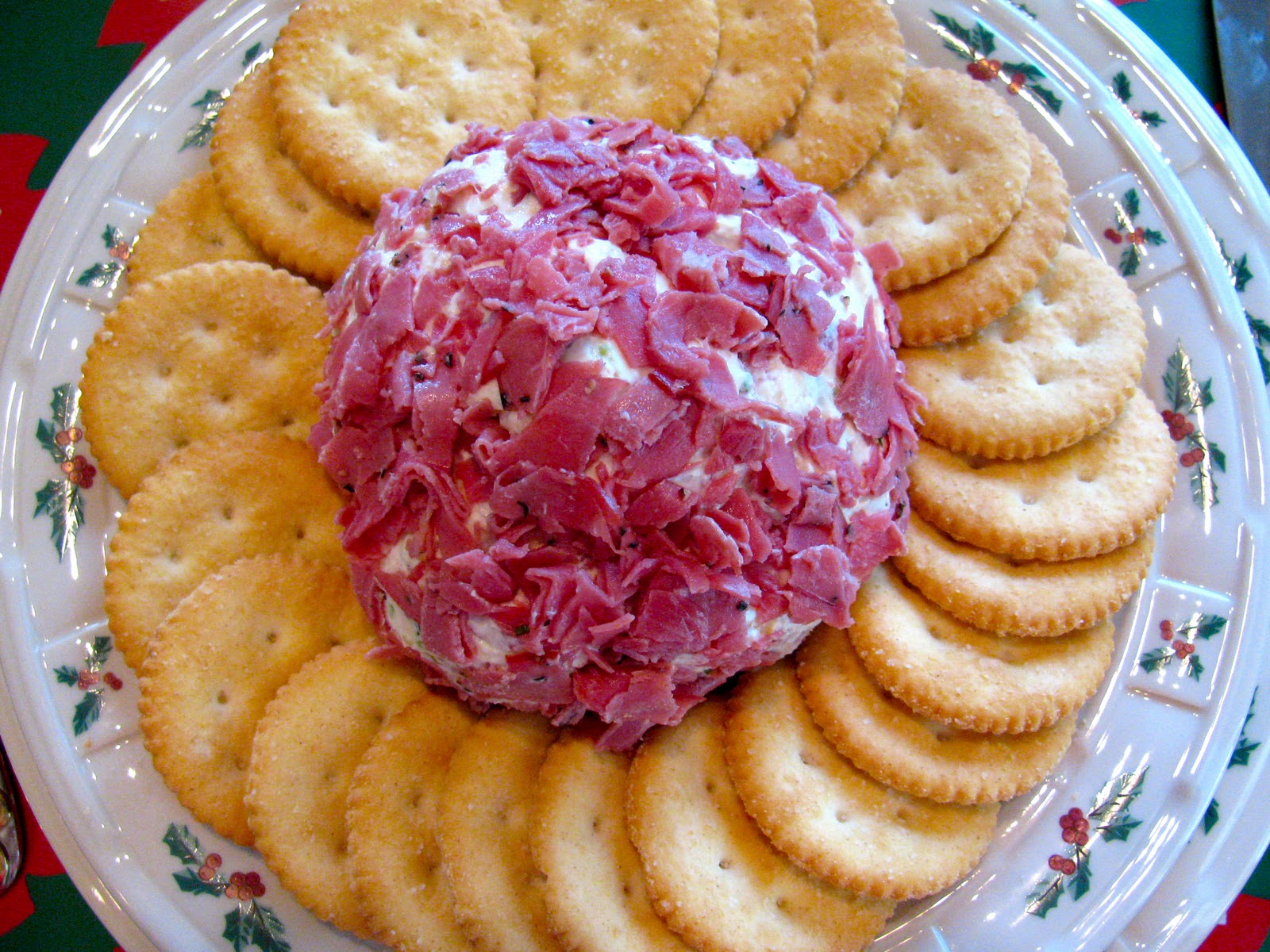 cheese ball so here it is this makes one small cheese ball it s with ...
