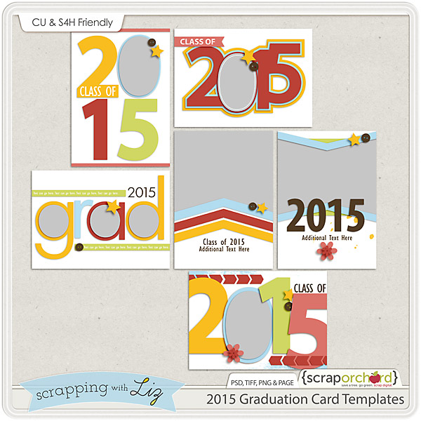 http://scraporchard.com/market/2015-Graduation-Card-Digital-Scrapbook-Templates.html