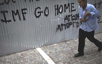 Greece IMF Go Home Oxi no nein