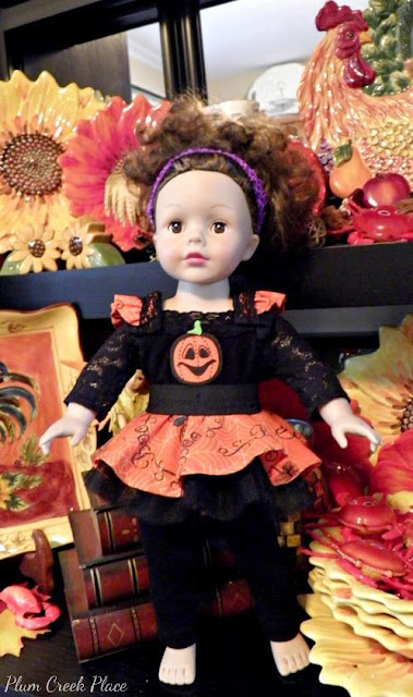 Little Jo's Doll Party - Jo's Halloween Costume