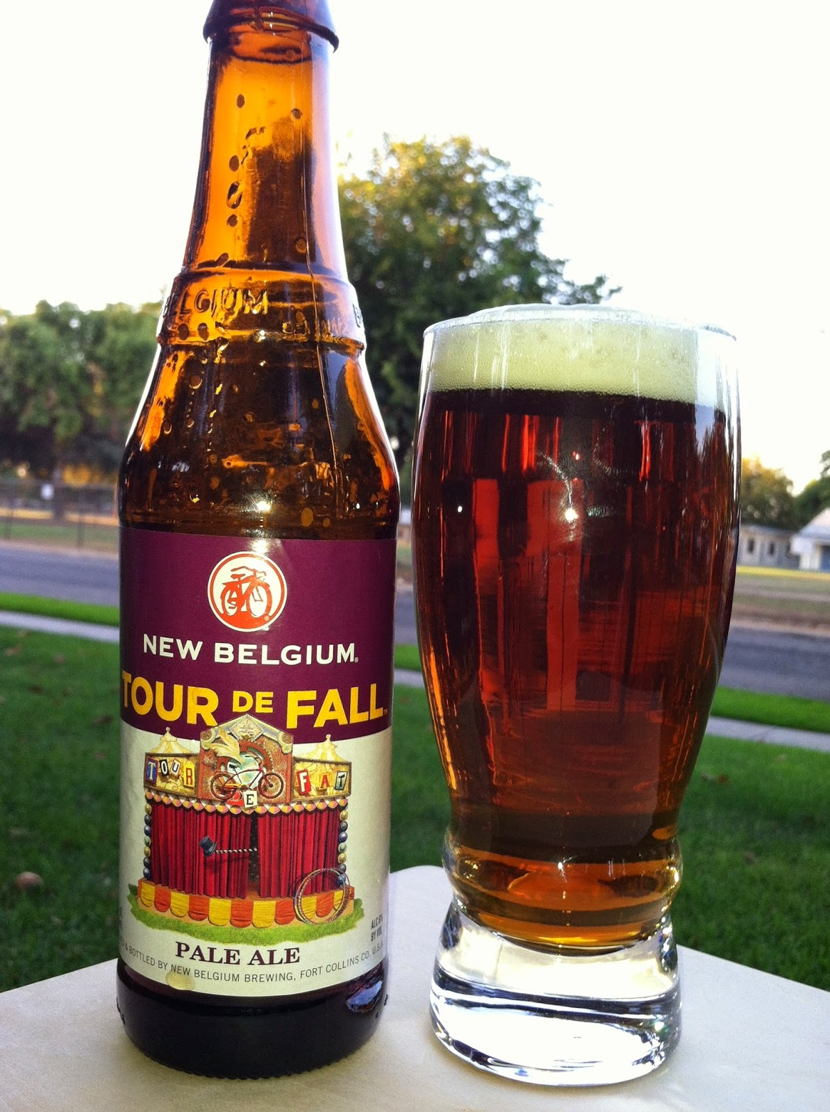 New Belgium Tour de Fall Pale Ale 1