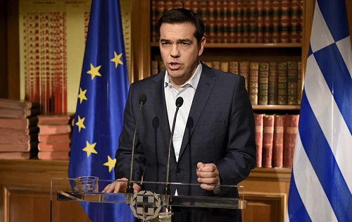 Perdana Menteri Yunani Alexis Tsipras