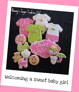 for baby showers especially when the cookies are for a baby girl