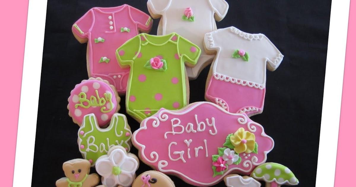 nanny 39 s sugar cookies llc sweet baby girl cookies