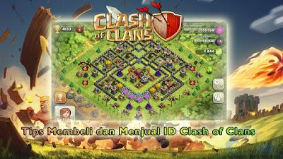 Jual Beli Akun Clash of Clans