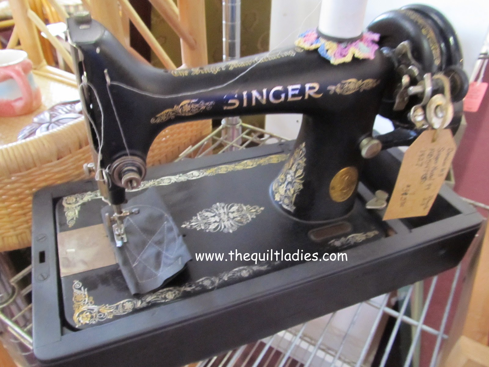 Little Singer Sewing Machine