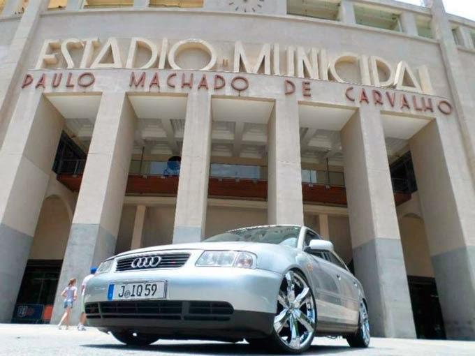 "Audi A3 Rebaixdo Rodas 20"" Cromadas"