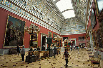 State hermitage museum of st petersburg of russia