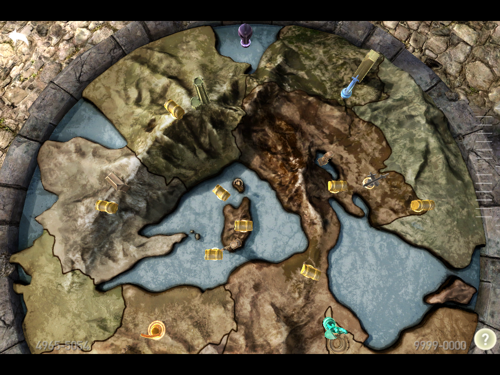 infinity blade 3 III mapa misiones