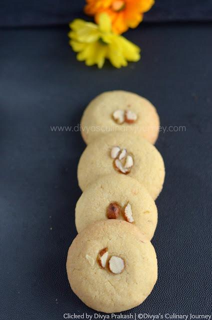 easy eggless cookies, nankhatai recipe, kesar nankhatai