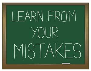 Motivasi Diri: Belajar Dari Kesalahan