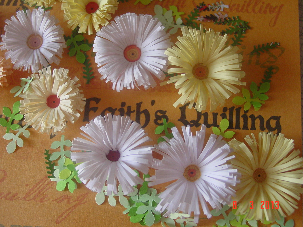 Faith s Quilling Quilled Flowers