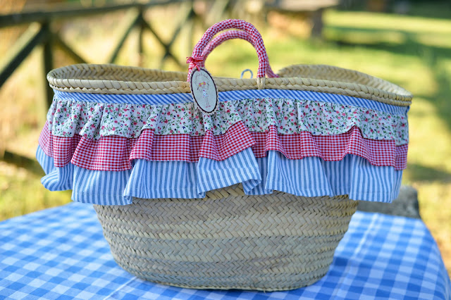 summer sunday picnic fashion food french basket