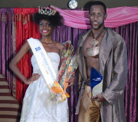 Mister Monde Martinique 2011 Winner Axel Cage