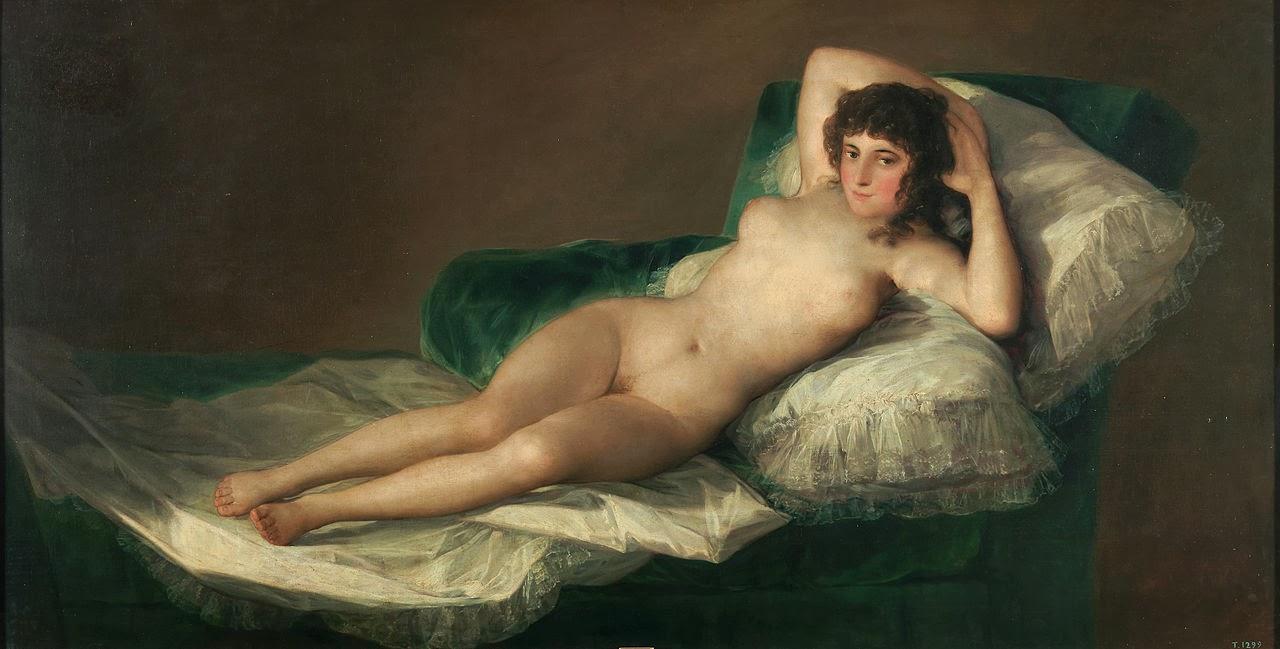 La maja desnuda, ca. 1790-1800