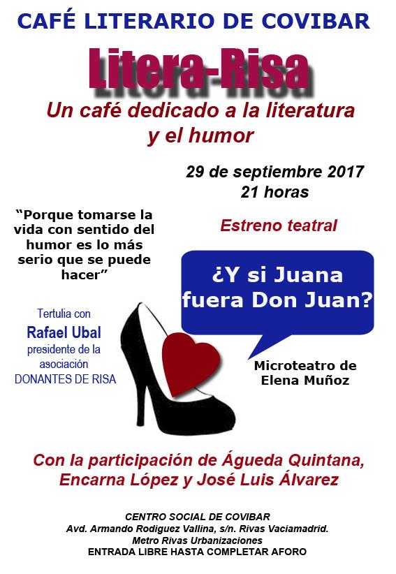 Café literario de septiembre