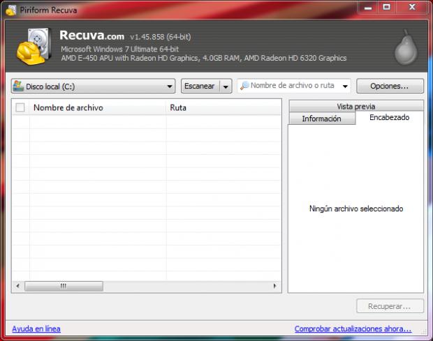 programa para recuperar archivos borrados
