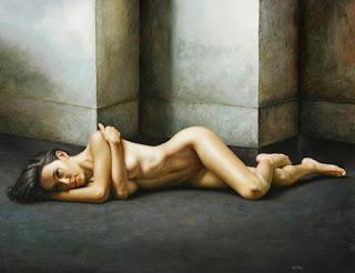 Desnuda Al Oleo Pintura