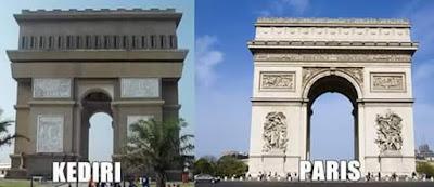Paris Vs Kediri