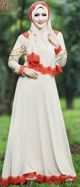 10 Model Busana Muslim Wanita Terbaru 2015