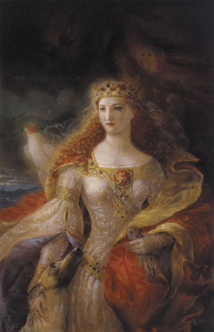in her life eleanor of aquitaine Eleanor of aquitaine (french: aliénor d'aquitaine, éléonore, latin: alienora 1122 – 1 april 1204) was queen consort of france (1137–1152) and england (1154–1189) and duchess of aquitaine in.