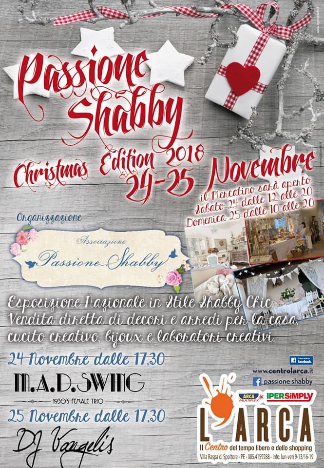 Passione Shabby Pescara, 24-25 novembre 2018