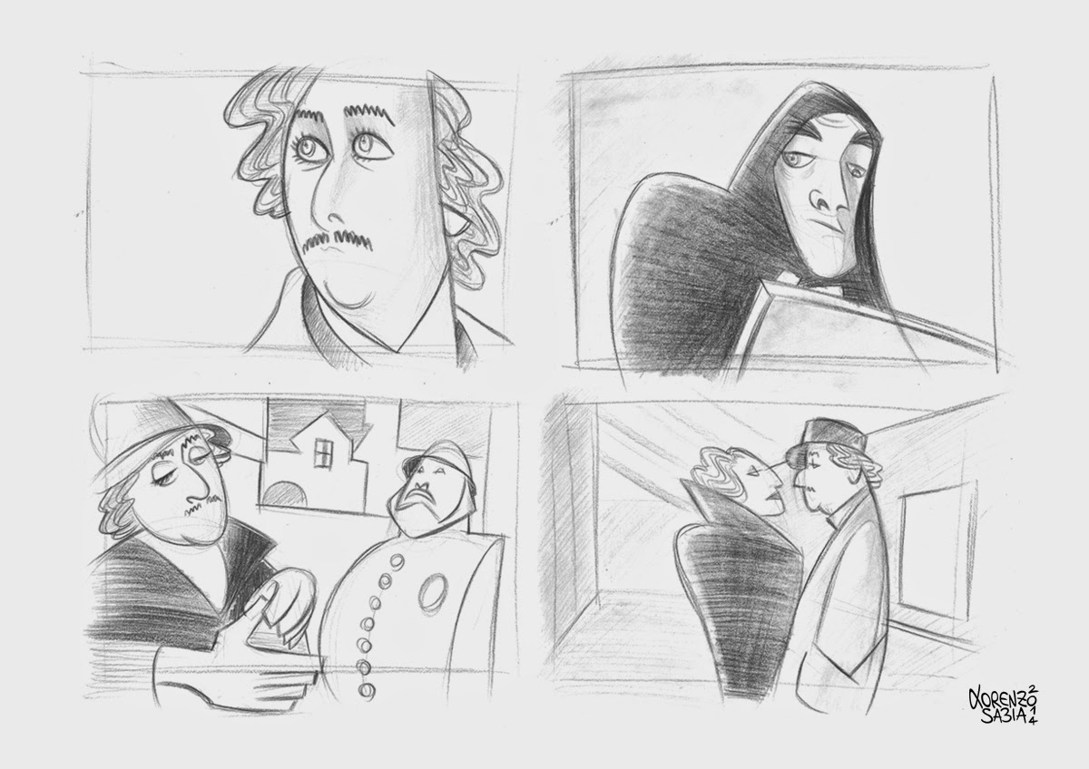 Young Frankenstein by Lorenzo Sabia