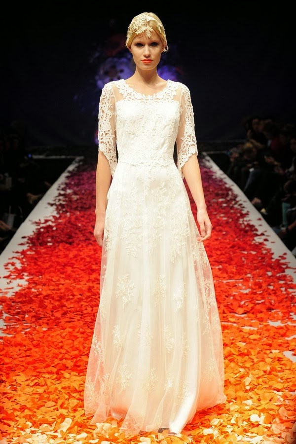 The Claire Pettibone Fall 2014 Bridal Collection