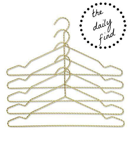 Hay Brass Coat Hangers
