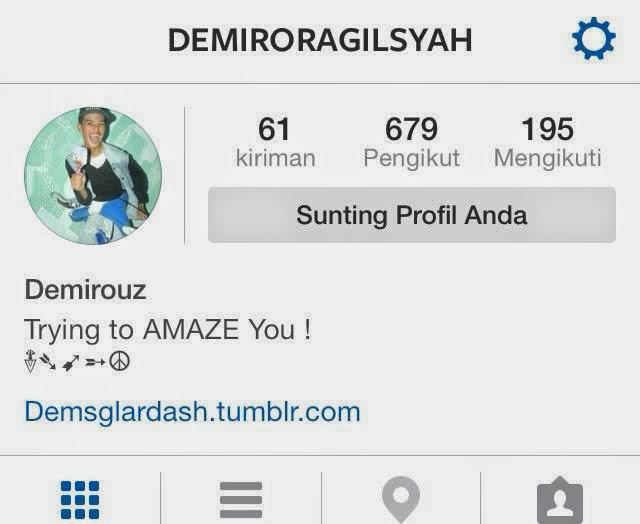 Follow My Instagram !