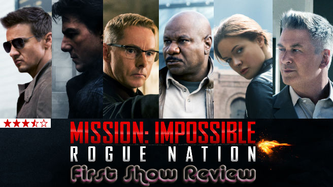 Mission Imposiible : Rogue Nation - Review,Rating