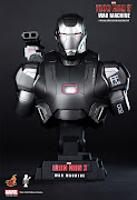 . of the most anticipating blockbusters of the yearIron Man 3 movie. (ht iron man war machine bust )