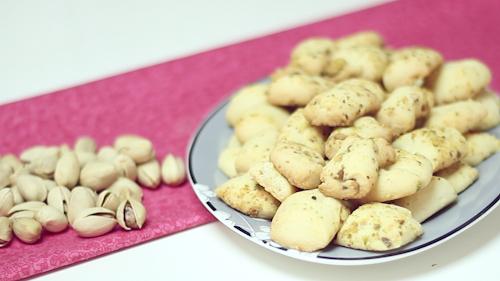 Biscoitos de Pistache