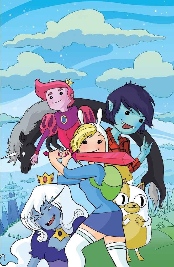 Adventure Time w/ Fionna and Cake #1 Exclusive Cover