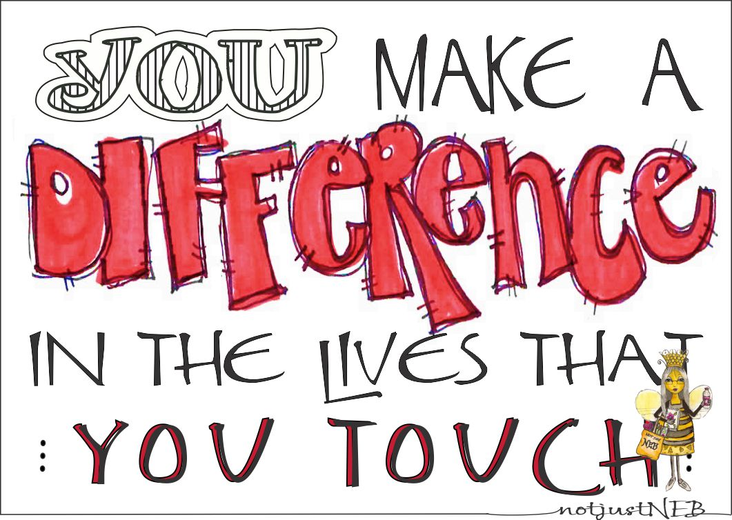 you can make a difference You already have what it takes to make the world a better place making a  difference to the world may seem like an enormous task, but it is in.