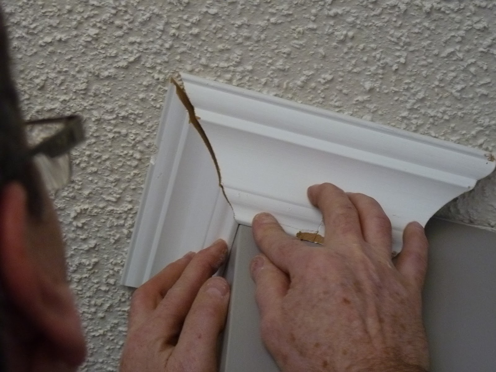 d i y d e s i g n: Cutting and Installing Crown Molding