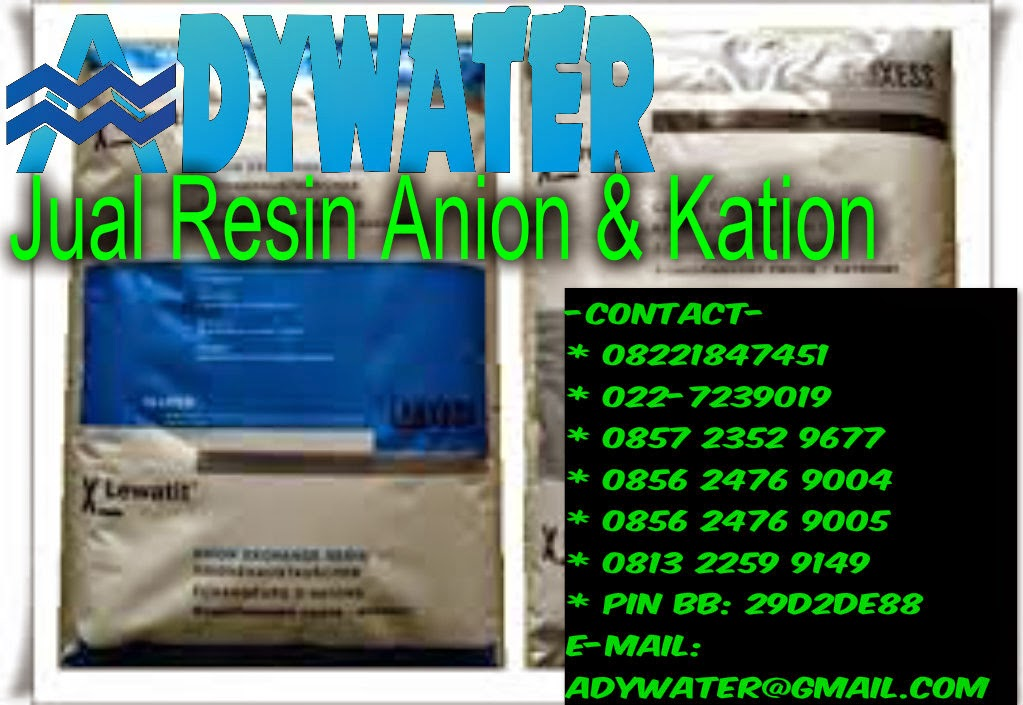 Jual Resin Anion Kation - Harga Resin Anion Kation