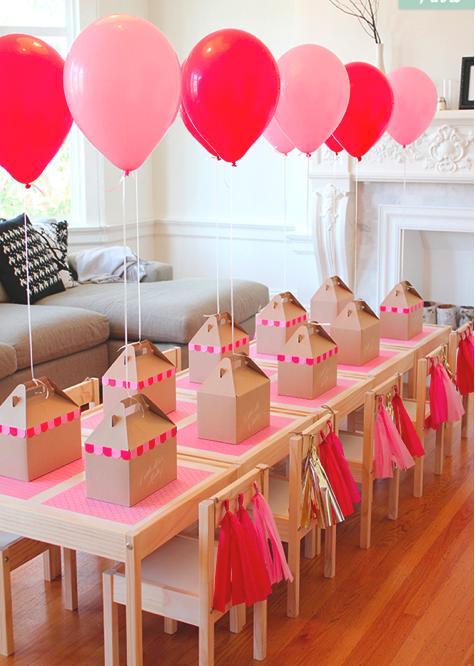 Decoraci n de fiestas con globos - Decoracion con globos ...