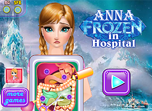 Anna Frozen in Hospital
