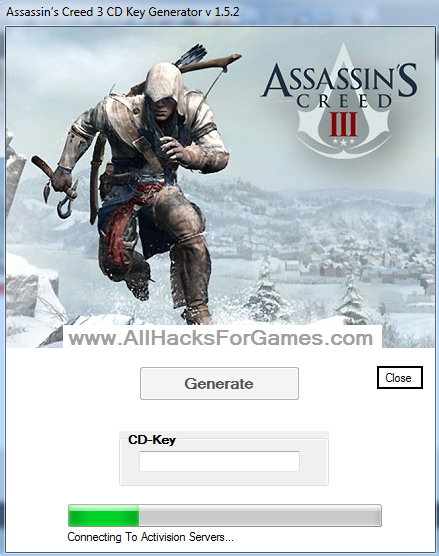 This is the original Assassin's Creed 3 Key Generator. Working to ful