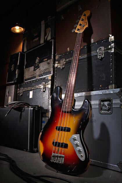 Bassgroove Fender Custom Shop Jaco Pastorius Tribute Jazz Bass 3