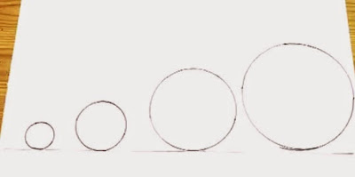Bagaimana Menggambar Lingkaran tanpa Jangka dan alat bantu lain