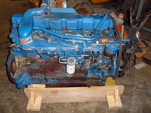 Ford 8340 engine