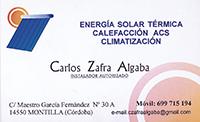 Energía Solar Carlos Zafra