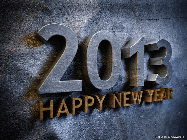 2013 New Year Wallpaper