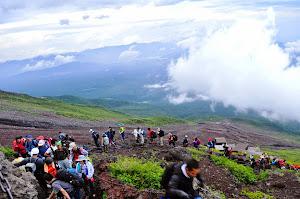 Mendaki Gunung Fuji