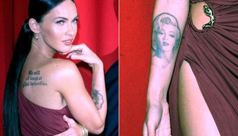 tato tubuh perempuan